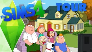 Family Guy House  - The Sims 4