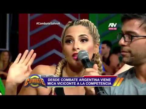 En Combate Perú hablan sobre Mica Viciconte (25/11/2016)