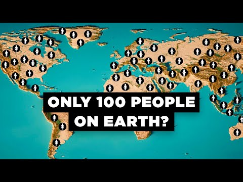 Thumbnail: What If Only 100 People Existed on Earth?