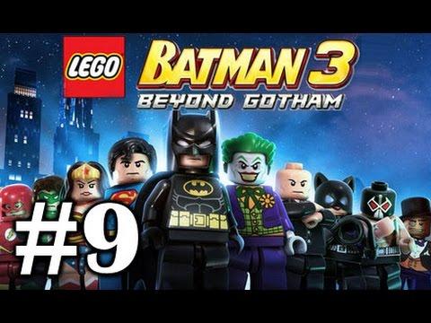 LEGO BATMAN 3: Beyond Gotham PART 9 - Need For Greed - Green Lantern ...