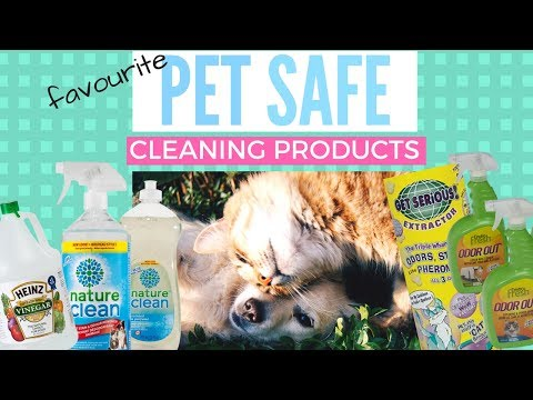 5 PET-SAFE CLEANING PRODUCTS (non-toxic)