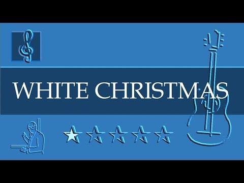 Acoustic Guitar TAB - White Christmas - Christmas song (Sheet Music)