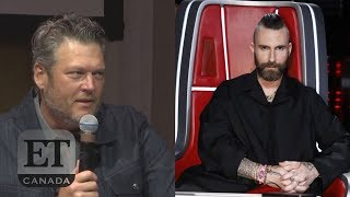 Blake Shelton Talks 'God's Country' & Adam Levine's Exit From 'The Voice' Video