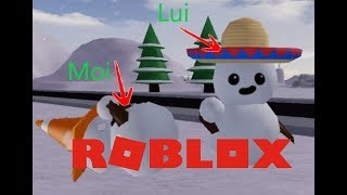 THE BEST SNOWBALL BATTLE!! Roblox Sno Day