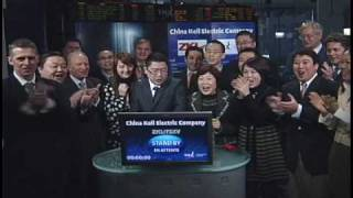 China Keli Electric Company opens TSX Venture Exchange, May 10, 2010