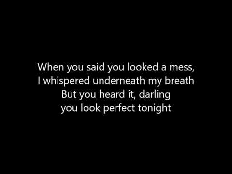 Ed Sheeran Perfect NEW SONG 2017 Lyrics ON SCREEN HD HQ