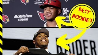 Rookie of the Year NFL 2019  (Will it be Kyler Murray or Josh Jacobs?)