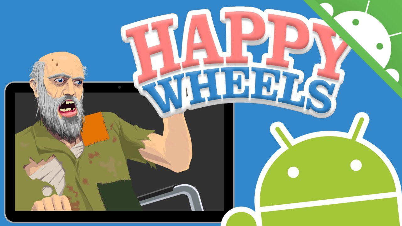 Happy Wheels Para Android Gratis Y Facil Youtube