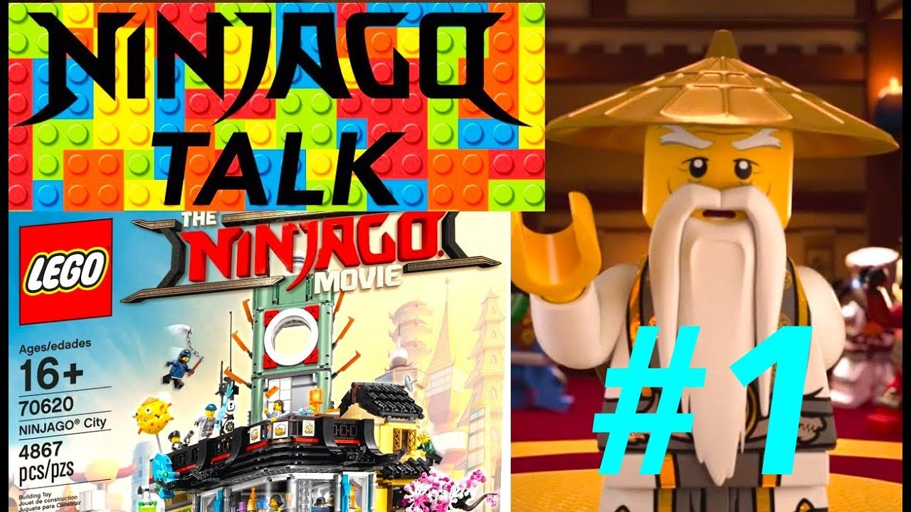 LEGO NINJAGO Talk Podcast EPISODE 1 - Ninjago MOVIE City Set and Hands of Time Final Thoughts ...