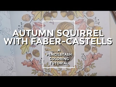 PENCILSTASH - How to blend with Faber-Castell Colored Pencil