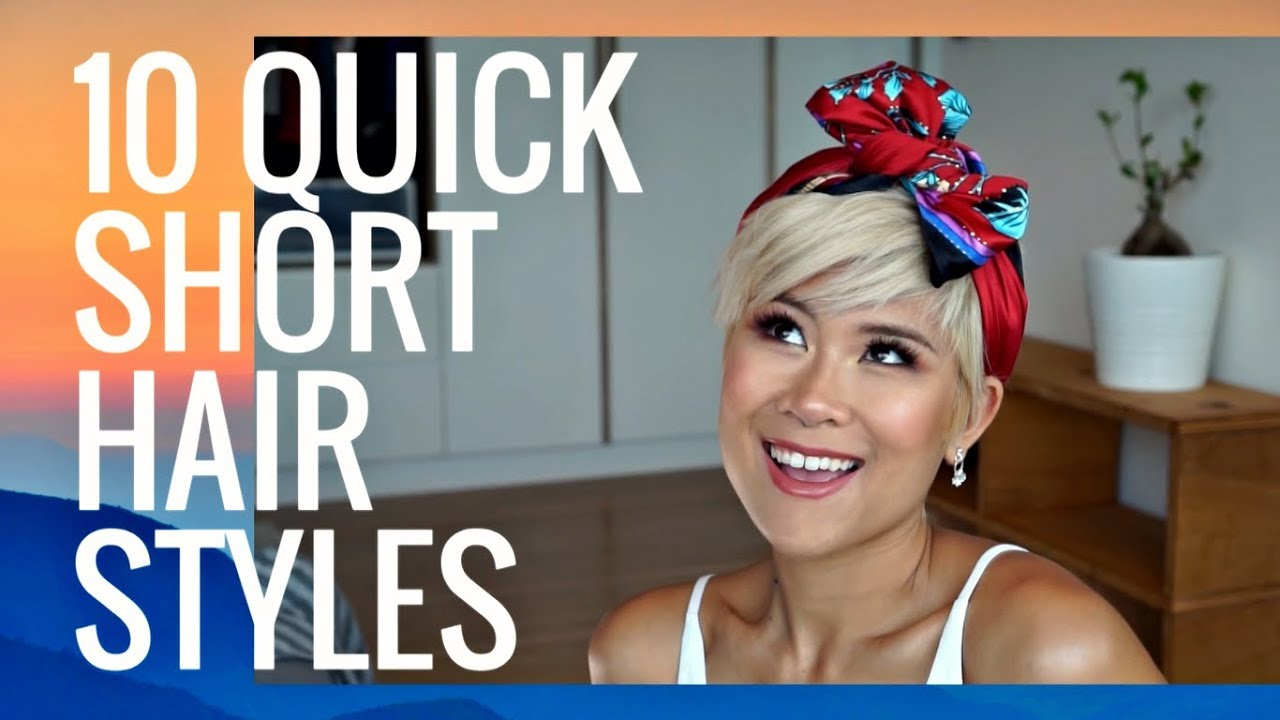 10 Easy Hairstyles For Pixie Short Hair Ft C Michael London