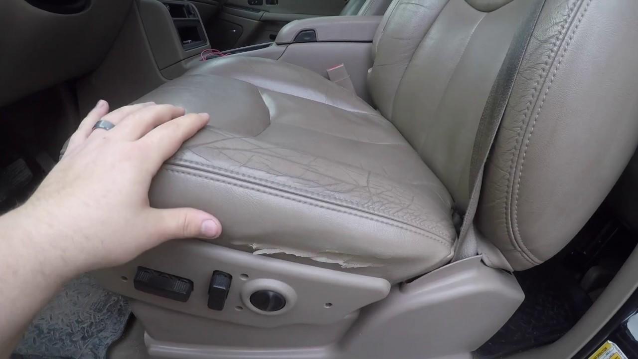 medium resolution of 2001 2007 classic silverado sierra power seat switch replacement