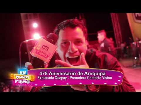 VIDEO: LOS TIGRES DE LA CUMBIA EN EL ANIVERSARIO DE AREQUIPA