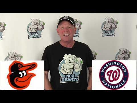 Washington Nationals vs Baltimore Orioles Free Pick 7/21/20 MLB Pick and Prediction