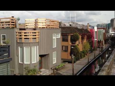 "Vancouver, BC's Floating Homes ""Sea Village"" - May 2, 2012"