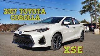 2017 Toyota Corolla XSE In Depth Review & Complete Tutorial Safety, Comfort, & Performance Features