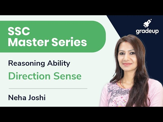 SSC Master Series | Reasoning Ability | Direction Sense | Day 4