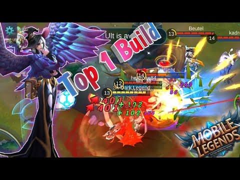 Mobile Legends: Alice MVP in Ranked | Top 1 Alice Build