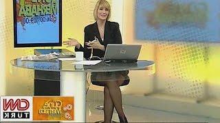 Özge Uzun Beautiful Turkish Tv Presenter 21.01.2013