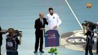 [HIGHLIGHTS] HANDBOL (Champions League): FC Barcelona Lassa - PSG (35-32)