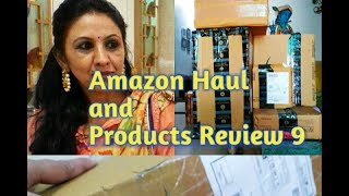 Amazon Haul and Products Review - 9 | My Purchase from Amazon and Review