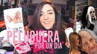PELUQUERA POR UN DÍA | Andrea Compton #ad