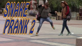 ► Пранк. Змея в Центральном Парке / Epic Snake Prank - Park Edition