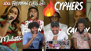 Fivio Foreign, Calboy, 24kGoldn and Mulatto's 2020 XXL Freshman Cypher Reaction!!!