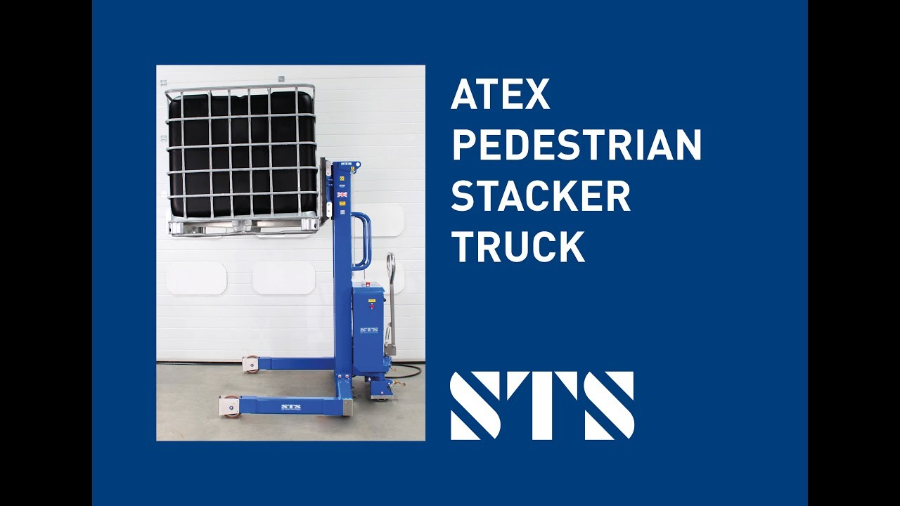 ATEX Pedestrian Stacker Truck Zone 1 Compliant (Model: STP07-FAC01-Ex)