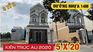 Bán nhà cuối Hóc Môn, Phan Văn Hớn 5x20m ✅ [ Kiến Trúc Âu Châu đẹp quá! ]