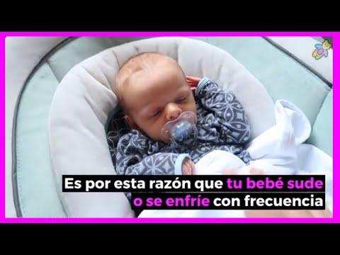 sudoracion fria en niños al dormir