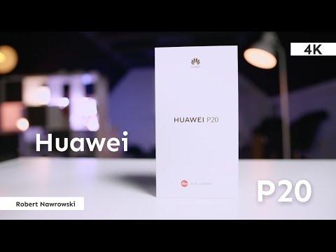 Huawei P20 Rozpakowanie i konfiguracja   Robert Nawrowski