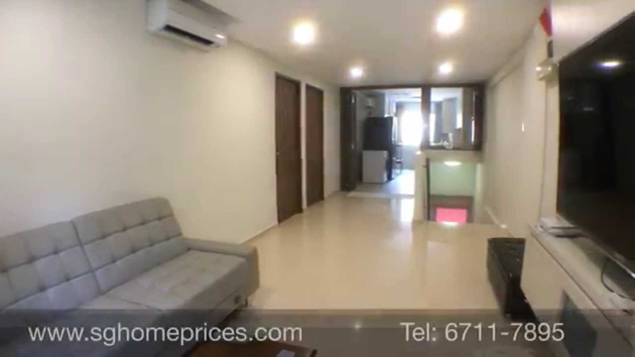 3 Room HDB Flat at Yishun Newly Renovated - YouTube