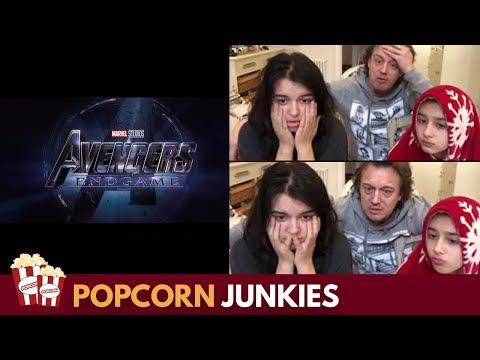 Marvel Studios' Avengers Endgame - Official Trailer - Nadia Sawalha & Family Reaction
