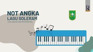 """Not Lagu """"Soleram"""" - Stafaband"""