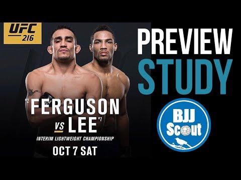 BJJ Scout: Tony Ferguson V Kevin Lee UFC 216 Preview