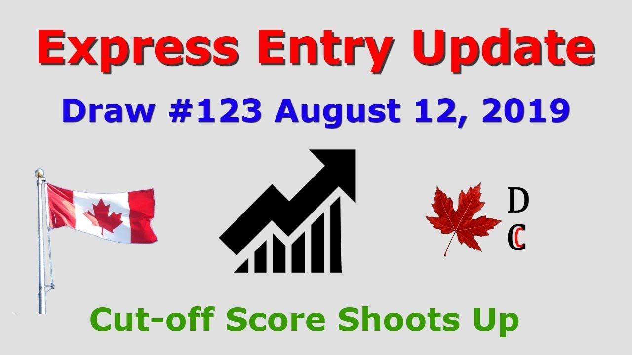 Express Entry Update Draw 123 August 12, 2019 | Express Entry Canada