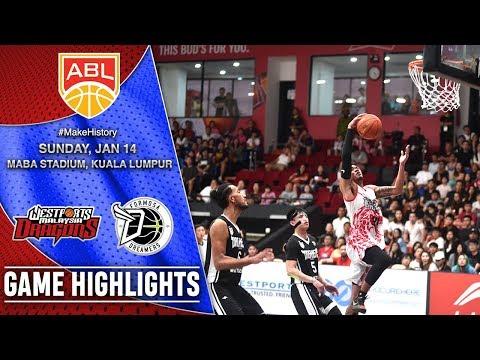 Wesports Malaysia Dragons vs Formosa Dreamers | HIGHLIGHTS | 2017-2018 ASEAN Basketball League