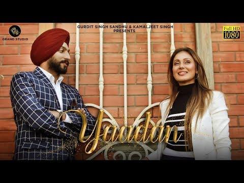Yaadan (Full Video) - Gurpreet Mann Feat. Payal Khanna | Grand Studio |