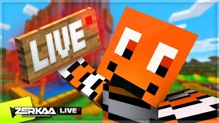 Our First LIVE Minecraft Episode! (Minecraft #22 LIVE 🔴 )