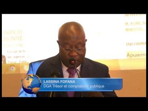 Yamoussoukro : séminaire bilan 2015 et perspectives 2016 du Trésor Public ivoirien