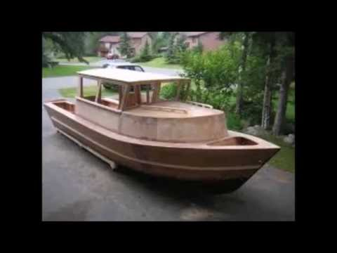 Boat Building Plywood - Wooden Boat Kits Skiff - YouTube