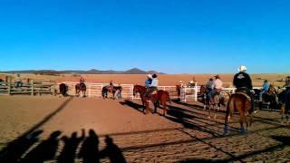 Pasatiempo de los lazadores en Basuchil  Chihuahua Mexico
