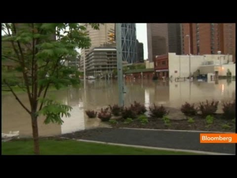 Calgary Hit by Severe Flooding: Raw Video