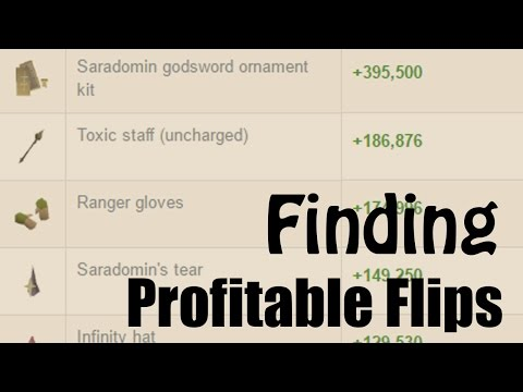 [OSRS] How to Search for Profitable Items to Flip with GE Tracker - A guide to Using Search Filters!