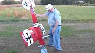Great Planes Giant big Stik. Two stroke gas Ryobi Weedeater engine.