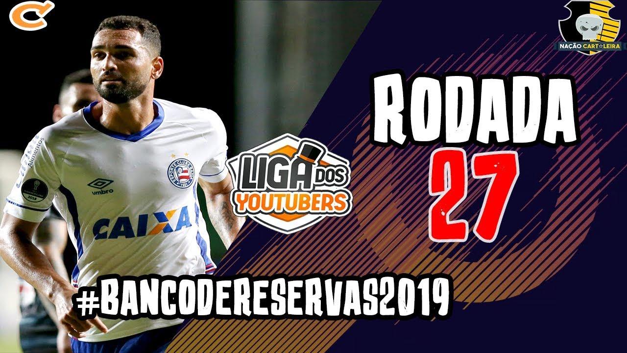 DICAS - RODADA  27 - TIME PRINCIPAL - CARTOLA FC - YouTube cacf526a2860b
