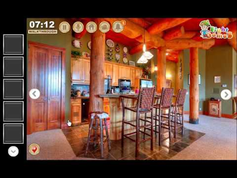 EG Wooden Living Room Escape Game Walkthrough EightGames - YouTube