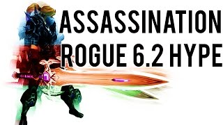 ASSASSINATION ROGUE 6.2 HYPE BURST - (Assassination Rogue PvP) Warlords of Draenor 6.1