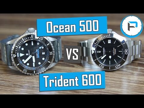 Steinhart Ocean 500 Titanium vs Christopher Ward C60 Trident Pro 600